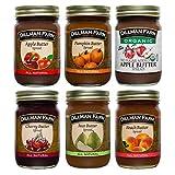 Dillman Farm 6 Piece Fruit Butter Variety Pack