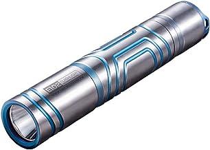 LED Flashlight, Titanium Alloy Light Flashlight, USB Charging Waterproof Multi-Function Flashlight Outdoor Camping Adventu...