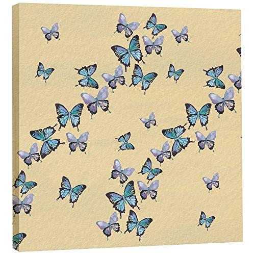 Árbol de-Free de felicitación 85475 11,25 x 28,58 cm Mariposas Azules In Flight...
