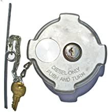 Fuel Tank Accessories 1/4 Turn Locking Diesel Fuel Cap for Freightliner Semi Trucks
