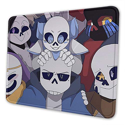 Sans Under-Tale Mouse Pad Non-Slip Rubber Gaming Mouse Pads for Office Home