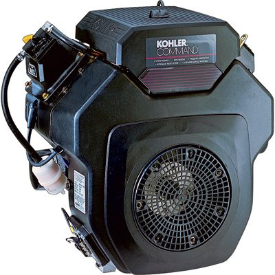 Kohler Command Pro Horizontal Simplicity Replacement Engine with Electric Start - 674cc, 1.125in. x 2.79in. Shaft, Model Number PA-CH640-3126