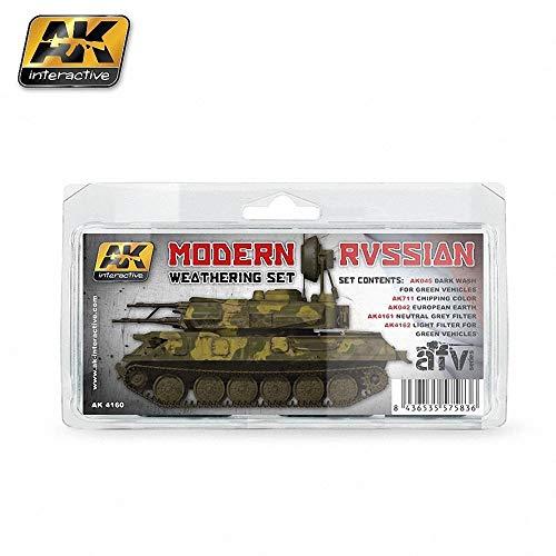 AK Interactive Modern Russian Weathering Set AK4160
