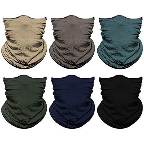 Neck Gaiter, Magic Headband Sport Headwear Elastic Face Mask Bandana Scarf UV Resistence Balaclava,...