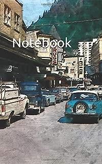 Notebook: vintage Alaska Franklin Street Alaskan Juneau hotel