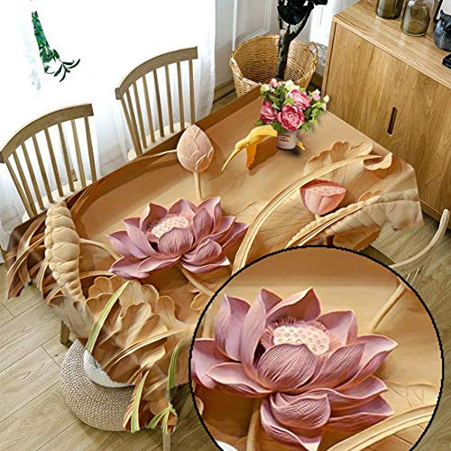 GAOYUEAno Navidad Mantel Cocina Comedor Mesa DecoracionesHogar Rectangular Fiesta Cubiertas de Mesa Adornos navidenos, 19,152x259cm