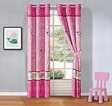 Luxury Home Collection - Set di Farfalle Multicolore per Bambini/Ragazze/Ragazze Matching Curtain