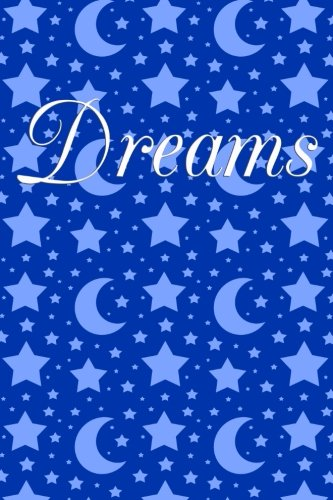 Dreams: Blue stars moons dream journal