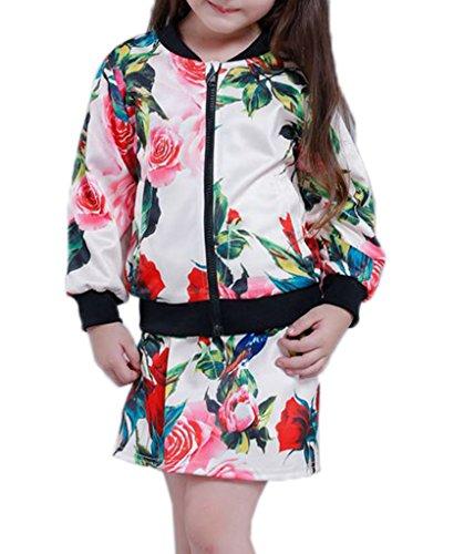 Xiang Ru Xiang Ru Sommer Reissverschluss Herbst Sommer Jacke Mantel Outwear Nicht inkl Rock Langarm Weiss 110