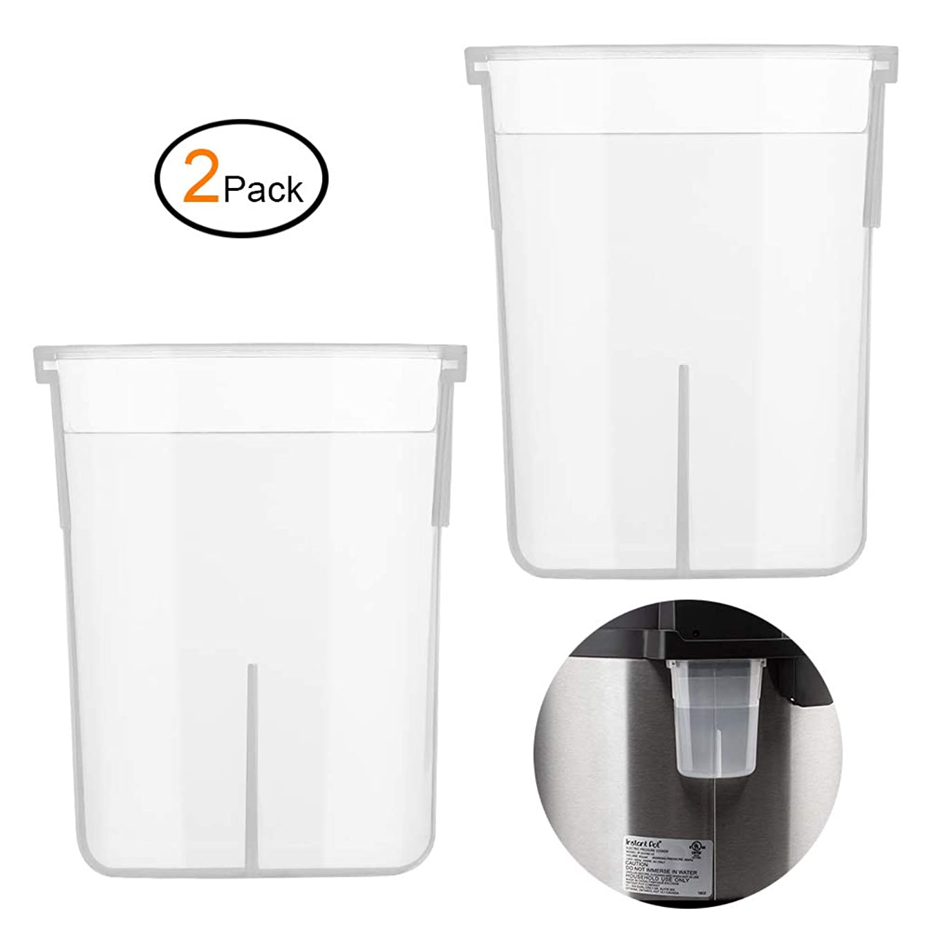 Condensation Collector Cup Replacement for Instant Pot DUO, ULTRA, LUX, 5, 6, 8 Quart All Series Ultra 60, DUO60, DUO89, and LUX80 by Zonefly