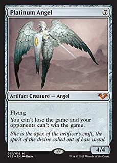 Magic: the Gathering - Platinum Angel - From the Vault: Angels - Foil