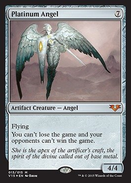 Magic: the Gathering - Platinum Angel - From the Vault: Angels - Foil by Magic: the Gathering