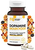 Natural Stacks Dopamine Brain Food Supplement - Boost Your Mental Drive - Formulated to Feel Alert & Engaged - L-Phenylalanine and L-Tyrosine to Increase Motivation - Natural Dopamine Support, 60caps