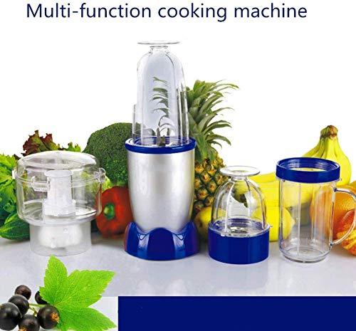 GPWDSN Mixer, Multi-Funktions-Smoothie Maschine 4-In-1 Food Mixer Mixer, 4 Sharp Klingen Aus Rostfreiem Stahl Der Hauptkörper Ist EIN Reines Kupfer Bewegung