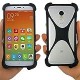 FTA Universal Smart Phone Case Bumper: Protection for Vivo, Essential, Google Pixel, Pixel 2 XL, iPhone X Plus, LG, Nokia, Samsung Galaxy, More (Black)