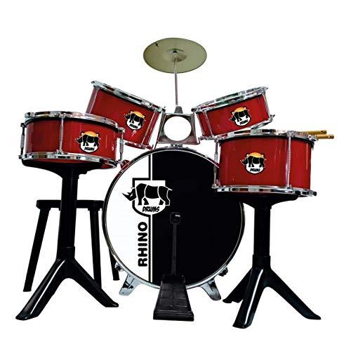 """CLAUDIO REIG-BATERÍA """"Golden Red Drums"""", Multicolor (717)"""