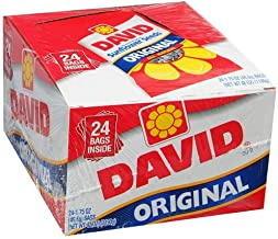 product image for David's Original In Shell Sunflower Seeds 5.25 oz. Bags - 12 / Box