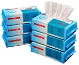 BalanceFrom Multi-Purpose 100% Unscented Cotton Tissue Soft Dry Facial Cotton Wipes for Sensitive Skin, White (Pack of 6)