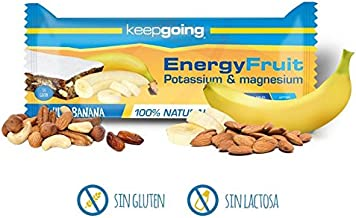 Energy Fruit A Energy bar A Box of 24 A Wild Banana – 40 gr Estimated Price : £ 37,20