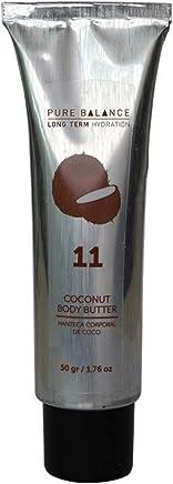 Body butter de coco Pure Balance Manteca corporal (50 g)