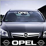 "'Opel Aufkleber 100 cm', Aufkleber mit Montage Set inkl.'Estrellina-Montage-Rakel®' & ""Estrellina-Glücksaufkleber®"","