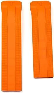 Tissot T610034735 T091420A Bracelet en caoutchouc Orange T-Touch Expert solaire