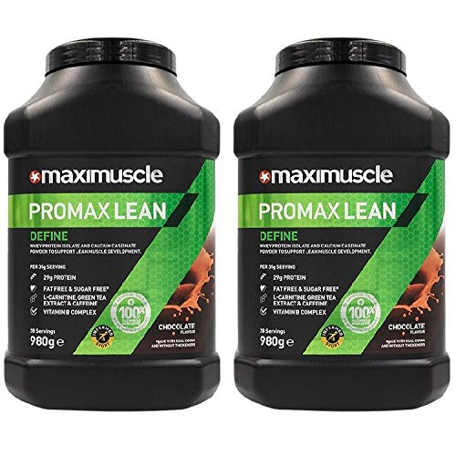 Maximuscle Promax Lean - 980g - Chocolate Twin Pack