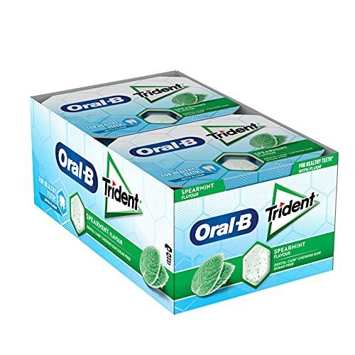 Trident Pack de chicles de hierbabuena 204 g