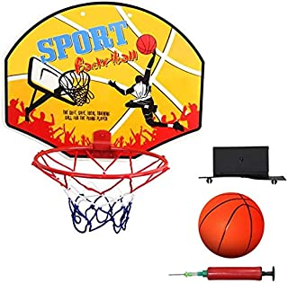 SONGYU-Panier Basket Panier De Basket, Montage Mural, Robuste, Résistant Aux Intempéries, Sport Basket-Ball Backboard Hoop...