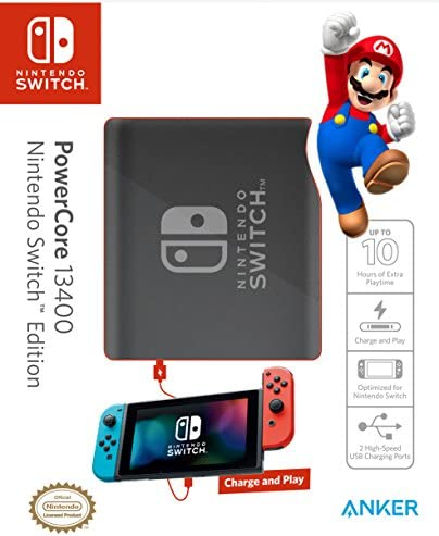 Power Delivery Anker PowerCore 13400 Nintendo Switch Edition The Official 13400mAh Portable product image
