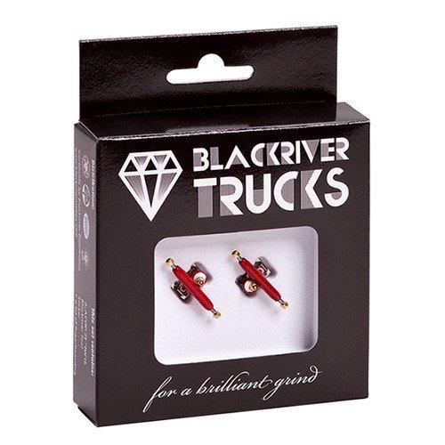 Blackriver Trucks 2.0 - Fingerboard, colore: rosso