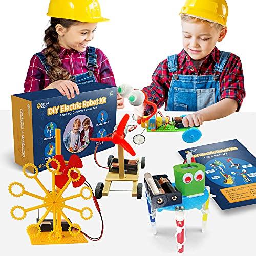 Kangokids DIY Robot Kit - Fun Robot Building Kit for Kids 6-12 -...