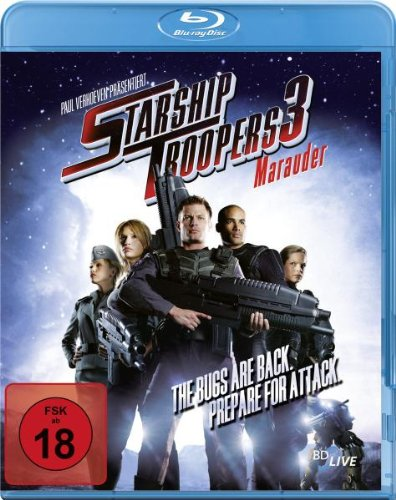 Starship Troopers 3 - Marauder [Blu-ray]