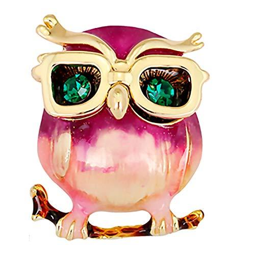 LRL Pines de joyería para Mujer Broche - Búho Simple Fashion Broche Traje de la Camisa Accesorios for la Chaqueta Adecuado for Broche Exquisito al día Elegante y Hermoso (Color : #8)
