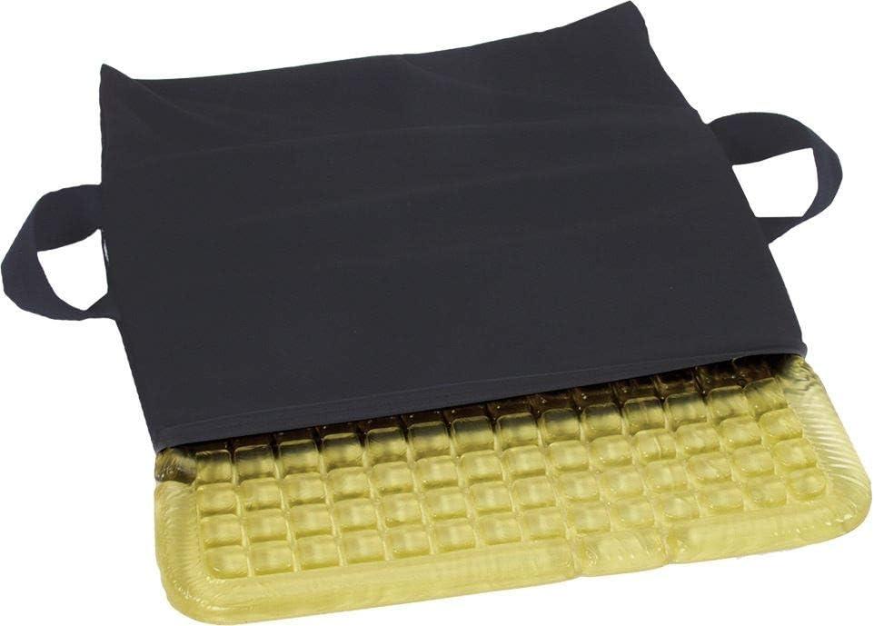 AliMed T-Gel Checkerboard Cushion, Blue Nylon Cover, 18 x 16 inc
