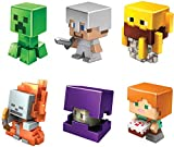 Minecraft All-Stars Mini Figure Six-Pack, Great for Playing, Trading, and Collecting, Action and Battle Toy for Boys and Girls Age 6 and Older