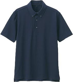 無印良品 ポロシャツ 涼感 鹿の子編みボタンダウンポロシャツ メンズ