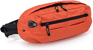 Outdoor Sport Waterproof Waist Pack, Men's and Women's Leisure Chest Bag Large Capacity Riding Bag Multifunction for Outdoor Sports, Running, Mountaineering, Cycling Trip, Etc (Size:18 * 40 * 9cm)
