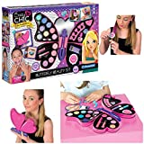 Clementoni- Crazy Chic - Butterfly Beauty Set, 3 in 1...
