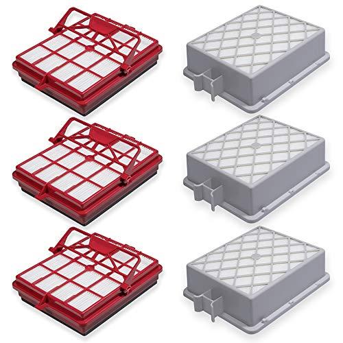 Premium Hepa- und Motor-Filter Set passend für Lux Electrolux Intelligence Royal - Bestleistung beim Saugen - Hochwertige Qualität