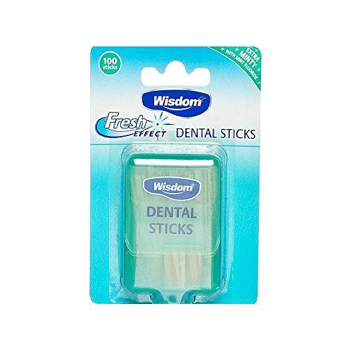 WISDOM Dental 100 Sticks, 9 g