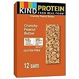 KIND Protein Bars, Crunchy Peanut Butter, Gluten Free, 12g Protein, 12 Count, 21.12 Oz