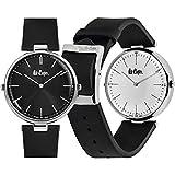 Reloj LEE COOPER LC06636.331 Ladies Colleccion Collection Análogo Moda y elegancia en tu mano-Negro