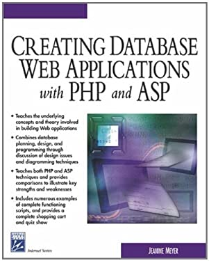 Creating Database Web Applications With PHP and ASP (Internet Series)