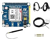 IBest Waveshare 4G / 3G / 2G / gsm/GPRS/GNSS Hat for Raspberry Pi, Jetson Nano,Based on SIM7600E-H, Support LTE CAT4 for Downlink Data Transfer, 4G Connection, Making Call, Sending SMS
