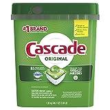 Cascade ActionPacs Dishwasher Detergent, Fresh Scent, 85-Count
