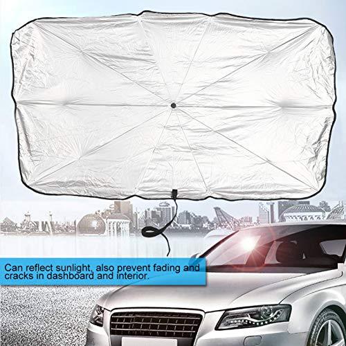 Mothinessto Paraguas de Coche Duradero aísle la sombrilla de Coche para Coche para minivans(L)