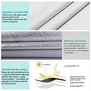 INTEY-Funda-para-Coche-Funda-Exterior-del-Coche-Anti-UV-con-Apertura-Lateral-ebillas-Cortavientos-Ajustables-Resistente-a-excrementos-de-Paloma-48x175x12M