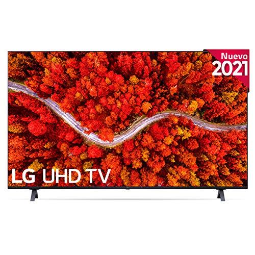 LG 65UP8000-ALEXA 2021-Smart TV 4K UHD 164 cm (65') con Procesador Quad Core, HDR10 Pro, HLG, Sonido Virtual Surround, HDMI 2.0, USB 2.0, Bluetooth 5.0, WiFi