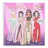 Depesche 11597 TopModel Dress Me Up-Libro jóvenes diseñadores de Moda, 24 páginas y Muchas Pegatinas, Aprox. 18 x 17,5 x 1,2 cm, Color carbón